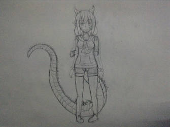 I haz long tail now by IllyaUmaru