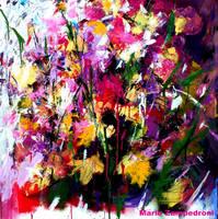 Floral - Acrylic on canvas - by zampedroni