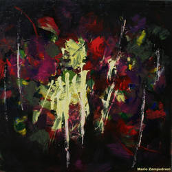 Dark Flowers by zampedroni