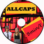 ALLCAPS contest cd back cover by minnie-jory