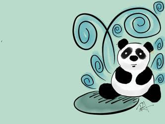 Panda II by Mraul