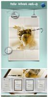 Poster Artwork MockUp by EugeneStanciu