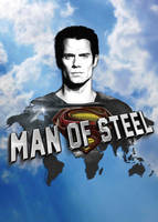 Man of Steel Poster by EugeneStanciu