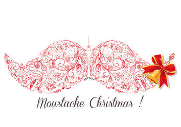 Moustache Christmas ! by EugeneStanciu