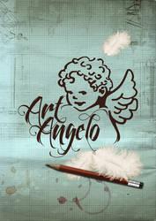 Poster Logo ArtAngelo by EugeneStanciu