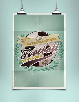 ArtAngelo Sport Poster-MockUp by EugeneStanciu