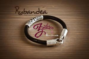 Bracelet Zimbroo black by EugeneStanciu