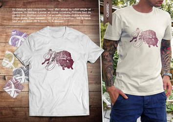 T-Shirt Zimbroo 2016 - logo Zimbroo classic by EugeneStanciu