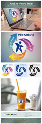 Logo Obesity Pole by EugeneStanciu