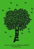 Save the trees 2 -Typography- by DarylBrunsden