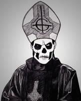 Papa Emeritus II by Anghellic67