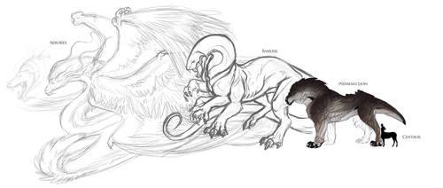 Cornipes- Apex Predators WIP by SoldierYena