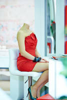 6: Headless Red Dress by LucyRosewood