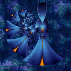 Spiraling Blues by LaPurr