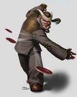 Troll Bodyguard by BarelynormalActivity