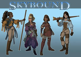 Skybound Lineup by BarelynormalActivity