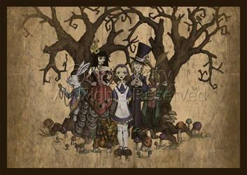 Alice in Wonderland by Devi-Art