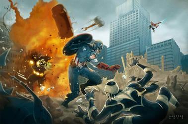 Avengers by santtos-portfolio