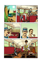 Swing: Road Trip Page One Color by spindeviant