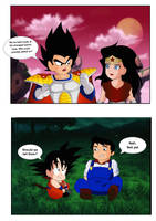 DC and DBZ crossover (kid version) by SaiyanGoddess