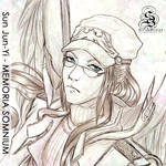 $5 Commission - JUN-YI by StarSophi