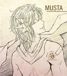 Birthday Gift: MUSTA by StarSophi