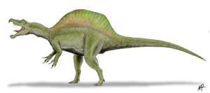 Spinosaurus by NTamura