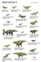 Ceratopsia I by NTamura