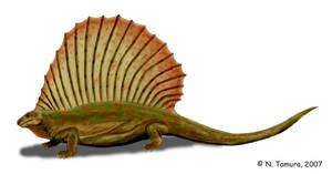 Edaphosaurus by NTamura