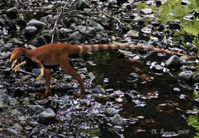 Sinosauropteryx by NTamura
