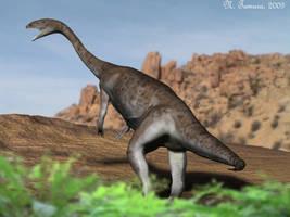 Anchisaurus by NTamura