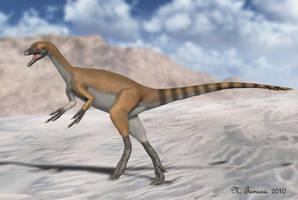 Haplocheirus by NTamura
