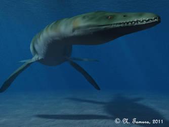 Rhomaleosaurus II by NTamura