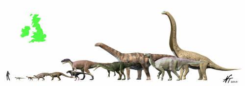 Dinosaurs of the British Isles by NTamura