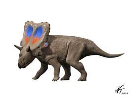 Mercuriceratops by NTamura