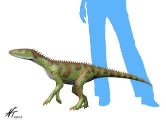 Lewisuchus by NTamura
