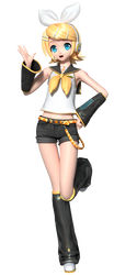 PDFT: Default Rin by Tuni-kun