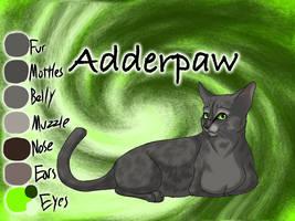 Adderpaw of ShadowClan - The Broken Shadow by Jayie-The-Hufflepuff