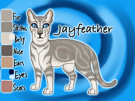 Jayfeather of ThunderClan - Trail of Ashes by Jayie-The-Hufflepuff