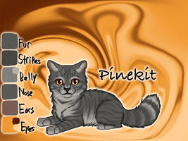 Pinekit of ShadowClan - Silent Sacrifice by Jayie-The-Hufflepuff