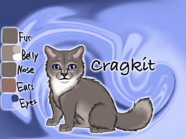 Cragkit of RiverClan - Silent Sacrifice by Jayie-The-Hufflepuff