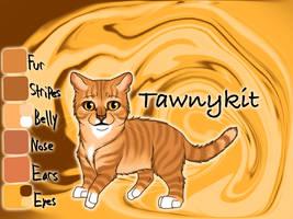 Tawnykit of WindClan - Silent Sacrifice by Jayie-The-Hufflepuff