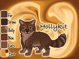 Hollykit of ThunderClan - Dawn by Jayie-The-Hufflepuff
