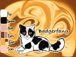 Badgerfang of ShadowClan - Yellowfang's Secret by Jayie-The-Hufflepuff