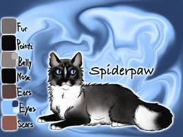 Spiderpaw of ShadowClan - Shrewfoot's Spite by Jayie-The-Hufflepuff