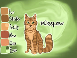 Pikepaw of RiverClan - Silent Sacrifice by Jayie-The-Hufflepuff