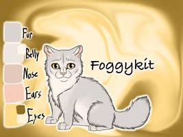 Foggykit of RiverClan - Silent Sacrifice by Jayie-The-Hufflepuff
