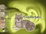 Cinderpaw of ShadowClan - Silent Sacrifice by Jayie-The-Hufflepuff