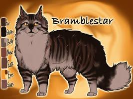Bramblestar of ThunderClan - Silent Sacrifice by Jayie-The-Hufflepuff