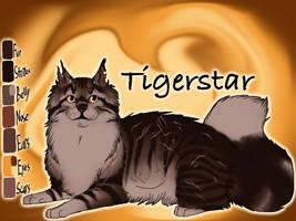 Tigerstar of ShadowClan - The Darkest Hour by Jayie-The-Hufflepuff